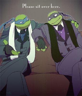 Leonardo And Donatello 2003 X Broken Reader Would You Choose