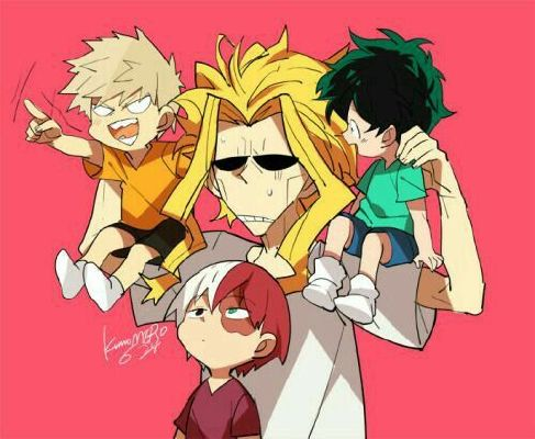 I found you daddy~ ( All Might and his child {reader} one