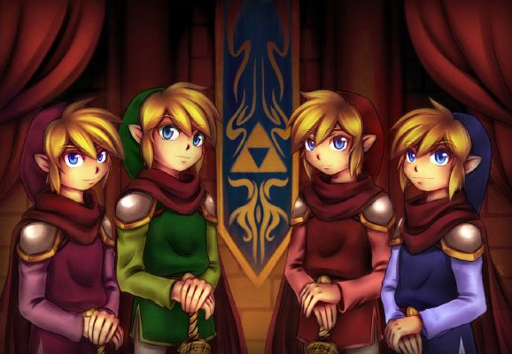LoZ Four Swords Headcanons