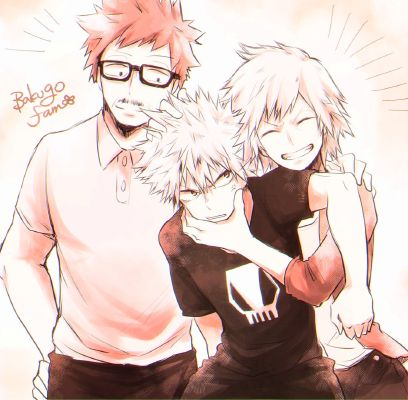 Family Dinner   I want to be a hero too! - Bakugou x Reader