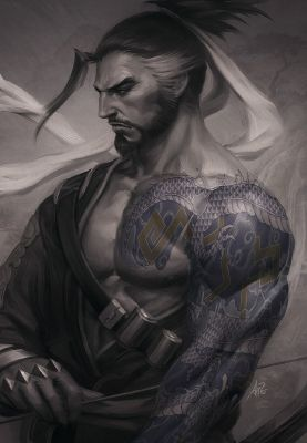 This Body || Hanzo x Trans-Male!Reader | Overwatch || One Shots