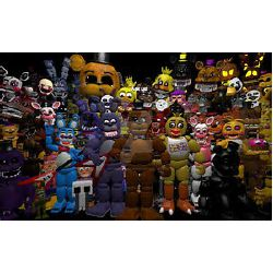 Can you name all of these FNAF characters ultimate quiz - Test