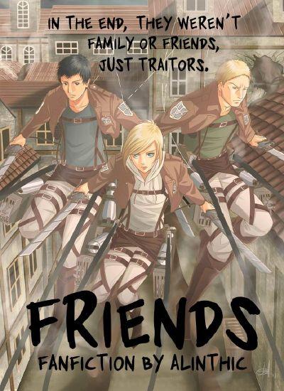Chapter ten - Chained | Friends (Friend!Reiner x Reader x