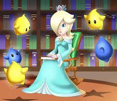 Tell Me A Story Please Luma X Child Reader X Rosalina | Mario
