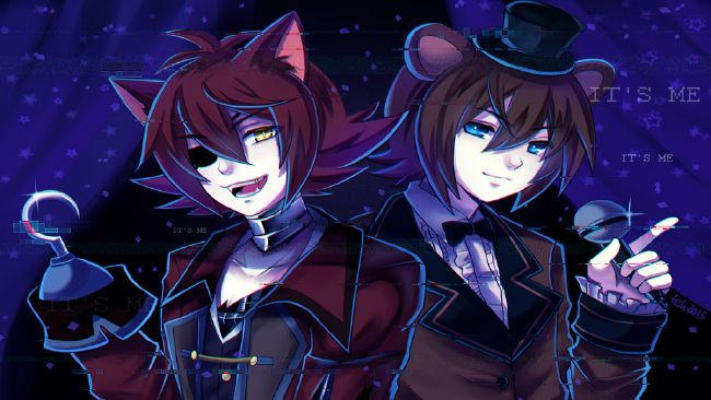 Foxy X Reader X Freddy - [LEMON] ~ Two is better than one