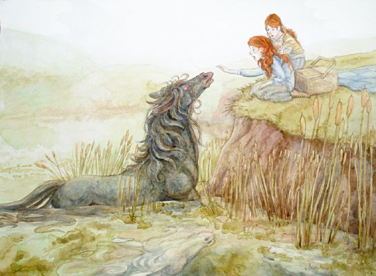 Drowned in Affection (M!Yandere Kelpie x F!Reader)