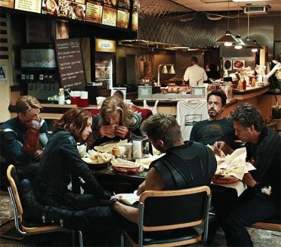 Avengers X Sarcastic Reader