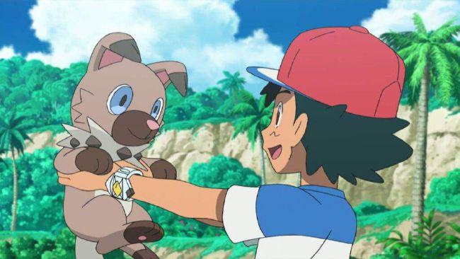 pokemon lycanroc showdown ash vs gladion   Pokemon