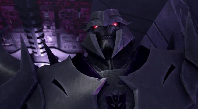 Prime Megatron x Depressed human   Transformers x D/D/S