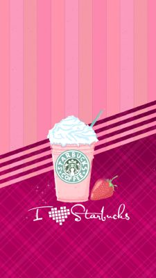I Love Starbucks Wallpaper