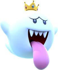 Spectral Beauty King Boo X Ghost Reader   Mario characters X Reader
