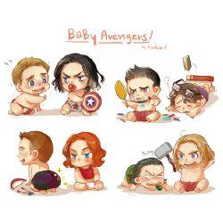 Avenger Baby Reader