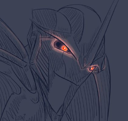 Blind Sided ~ Starscream X Blinded!Reader  | Transformers prime x reader