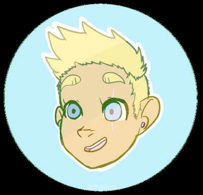 Don't be silly~! (FakeVampire!Butters x Helpful!reader