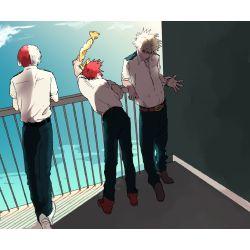 Do you suit Bakugou, Kirishima or Todoroki more in a relationship