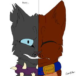 Tiny Rust (Rusty/Firestar and Tiny/Scourge Fanfic)