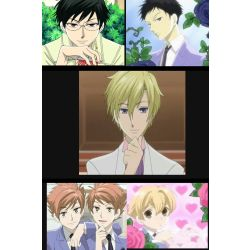 The life of a host (Ouran highschool host club various x