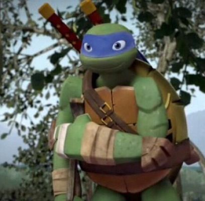 Here, Let Me Help You (Leo x Faliene) | With TMNT, A Lot Can