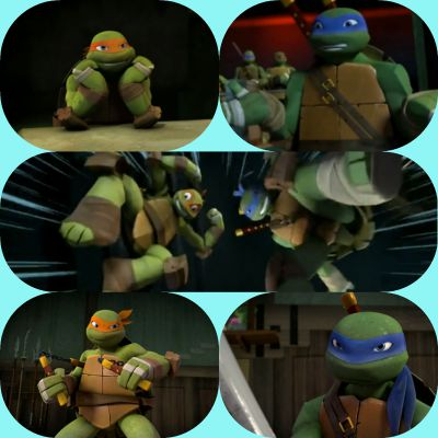 Tmnt 2012 The New Additions To The Family A Mikey X Reader And