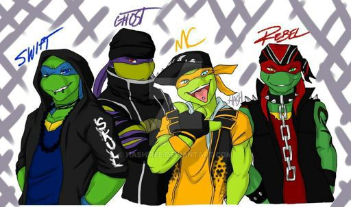 Well Hello Tmnt Street Punks Tmnt Younger Sister Turtle
