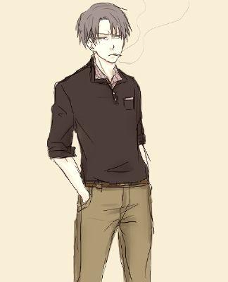 Jealous Levi X Flirty!SM   Seme Male Reader x Male Character