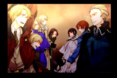 Yandere! hetalia x Nation! reader