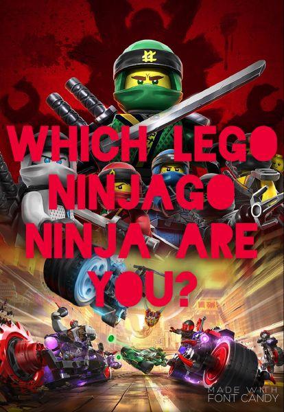 Which LEGO Ninjago Ninja are you? - Quiz
