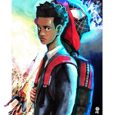 Spider-verse! Miles Morales x Reader- A date | Oneshots (requests