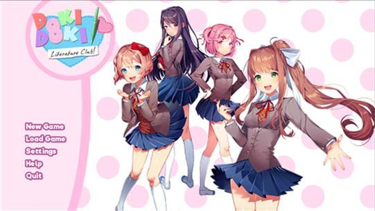 The real Doki Doki Literature Club! | Not alone (Monika x