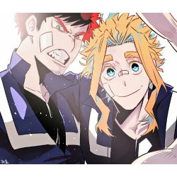 You Suck At Love (Young!Endeavor X Reader X Young!All Might)