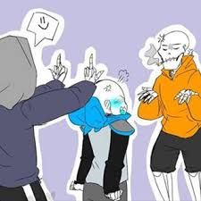 Which AU Sans has a crush on you ( girls only) - Quiz