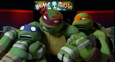 Humbly In Charge Leo And Raph With Donnie And Mikey Tmnt Short