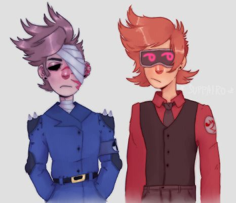 Red Leader!Tord X Black leader!Reader X Blue Leader!Tom] ⚠LEMON