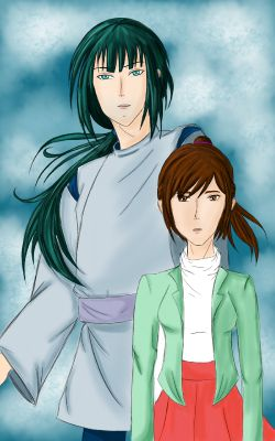 Chapter 1 The Paths That Has Been And Will Be Crossed Spirited Away 2 The Promise
