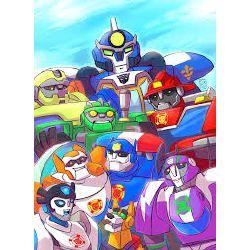 Transformer Rescue Bot Stories