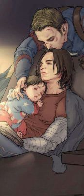 Stucky x child reader