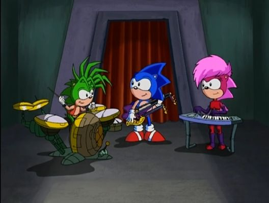 Getting To Know You In Sync Sonic Underground Romance Fanfic Hiatus