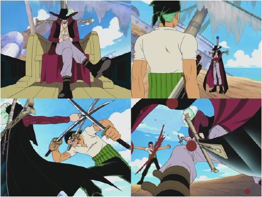 Ch 24: Hawk-Eye Mihawk vs Roronoa Zoro! The Siren
