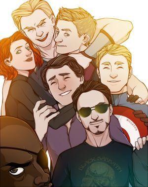 Avengers x Child reader