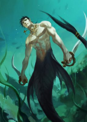 The Merman | Yandere!Mythical creatures x reader