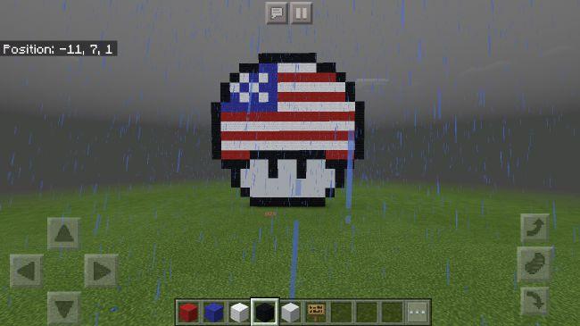 Pixel Art In Minecraft