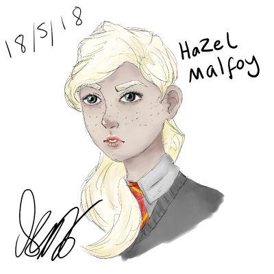 If Draco Malfoy had a sister?