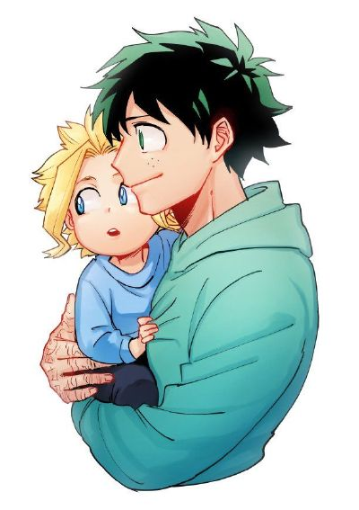 Child!All Might x Wife!Reader:What happened to my Husband?