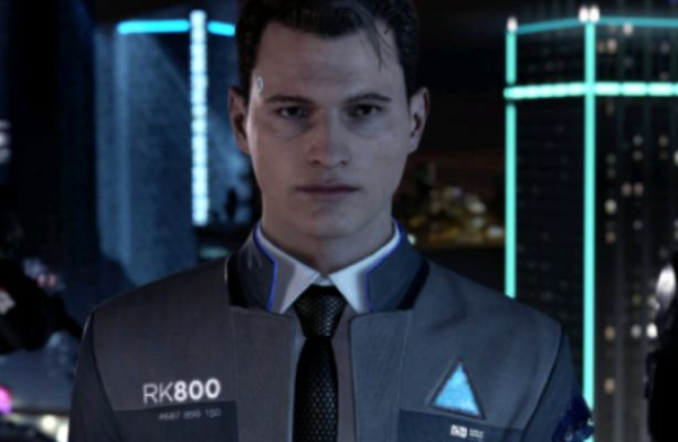 Red and Blue [Detroit: Become Human] (Connor x Reader)