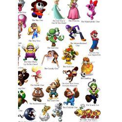 Super Mario Bros  Characters x Reader Oneshots