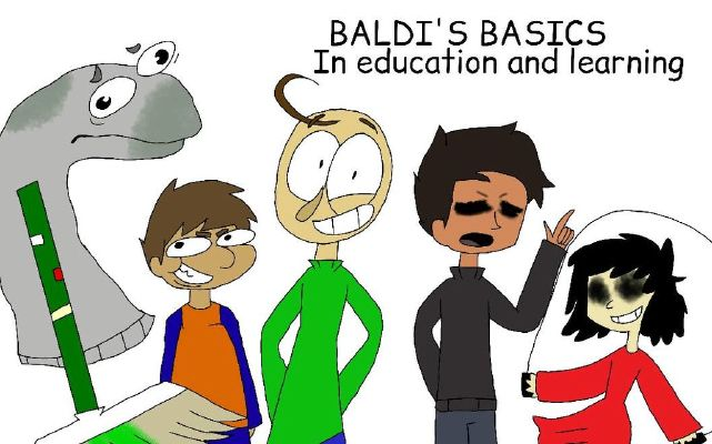 Which Baldi's Basics character are you? (NEW CAMPING CHARACTERS