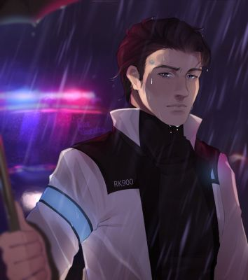 Ignited Through Eyes Connor RK900 x Female Reader   A Reason to Life