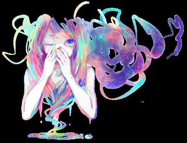 Test de color de pelo anime