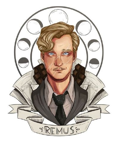 Lattes and Chocolate (Remus Lupin x Student!Male!Reader)