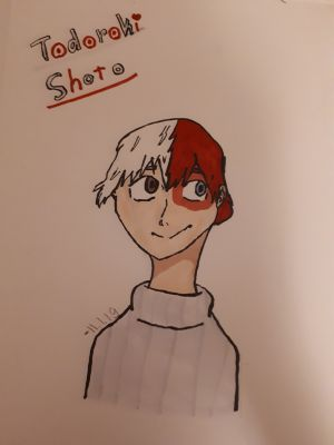 Todoroki Shoto~♡ | MHA art contest: Author Limit Reached